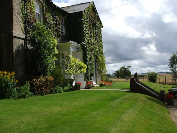 Another view of the lovely farmhouse in Dorset