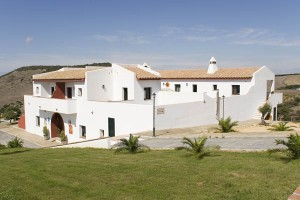 The Hotel Sindhura in Spain, 10 minutes from the Costa de la Luz, is Jiva Healing's most comfortable venue - each of the 14 rooms have balconies & sea views, and the large yoga room looks over countryside