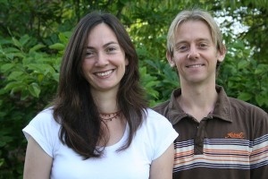 Ayurvedic experts Laura and Andy, who have created a fantastic health retreat next to their Lincolnshire home