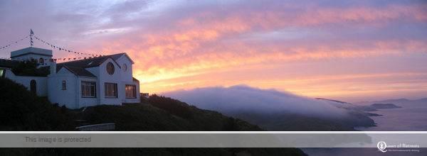 Dzogchen Beara, a buddhist retreat in Ireland with spectacular views of the Atlantic ocean