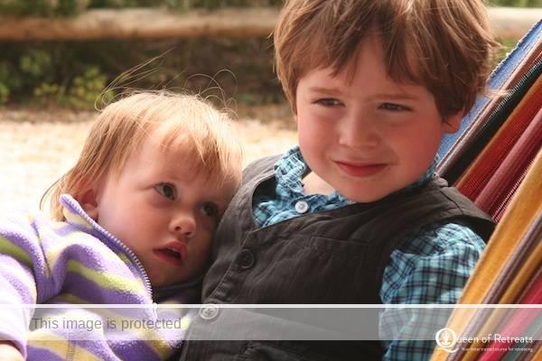 Annoushka with Jean Hall's son Felix