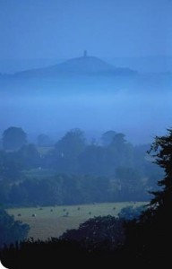 Glastonbury Tor, a short drive from Amchara's base
