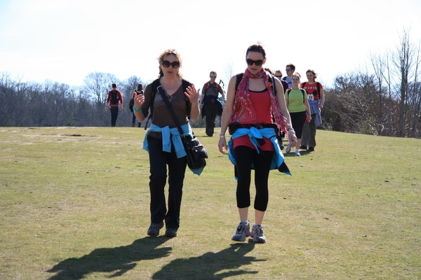 Walking at Mickedom in the Surrey Hills with Hike to Indulge