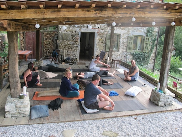 yoga holiday Slovenia