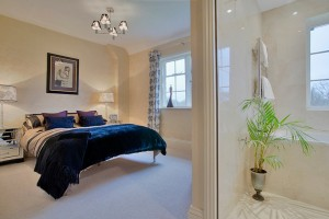 The Gold Bedroom at Simply Healing in Sussex