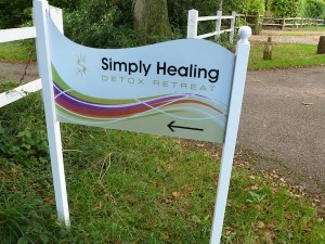 simply healing sign