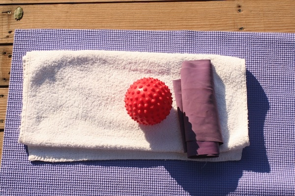 A little equipment at class on a Method Putkisto healthy holiday
