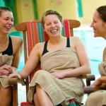 Ragdale girls laughing
