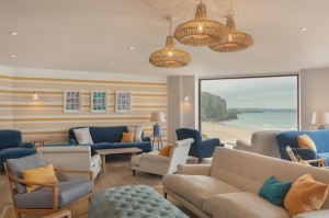 The Ocean Room - part of the Swim Club at the Watergate Bay Hotel in Cornwall  © Kirstin Prisk
