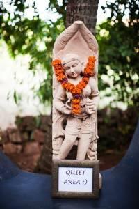 Ashiyana Quiet-area-statue
