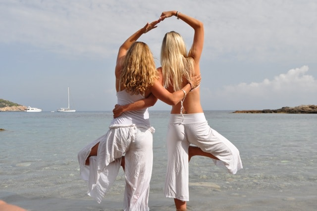 Susie and Larah, the dynamic wellbeing duo behind Ibiza Retreats