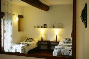 Alfio, one of the brighter bedrooms at In Sabina