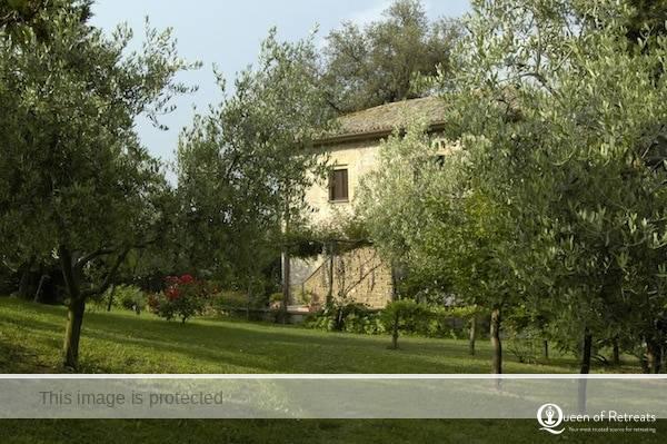The main house at In Sabina
