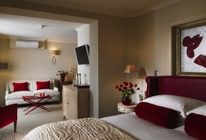 The junior suites are located in the new extension at Grayshott