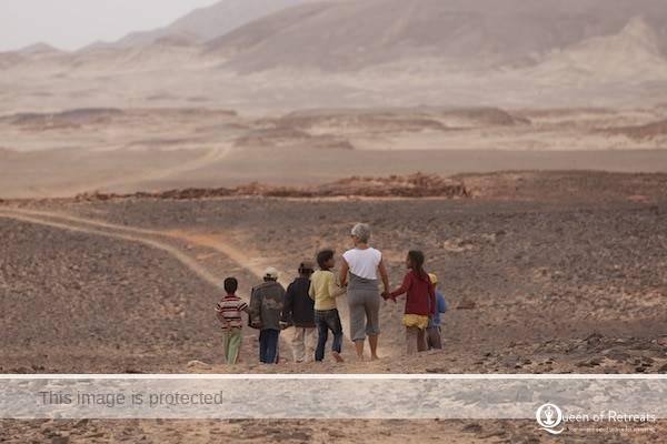 Sara Campbell Bedouin kids desert