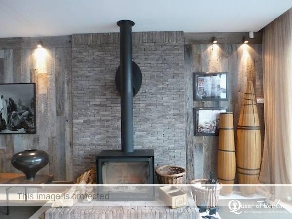 Yoo Retreats fireplace