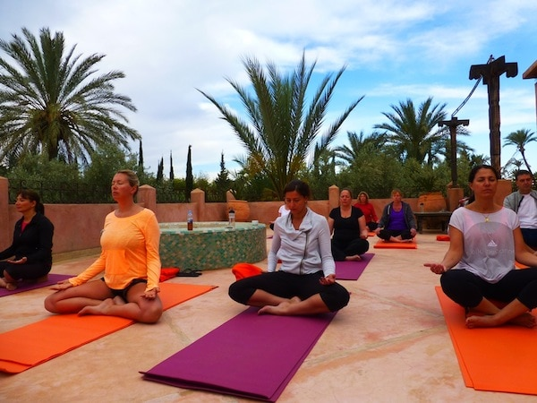 yoga holiday Morocco