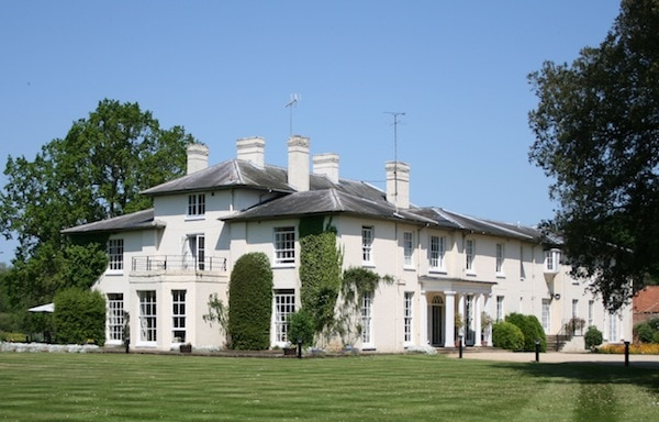 Congham Hall spa hotel Norfolk