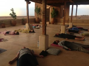 Satvada Retreats yoga class