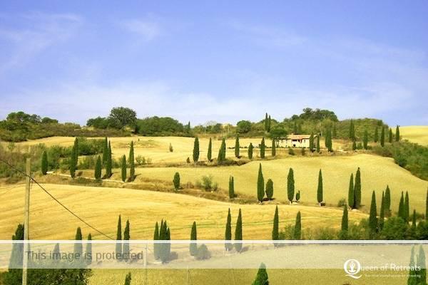 Mum and Baby Experience Tuscan views