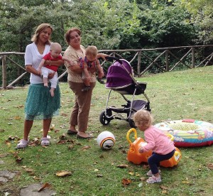 Mum and Baby experience childminders