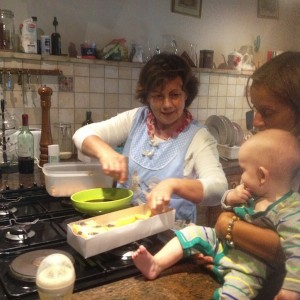 Mum and Baby experience cooking