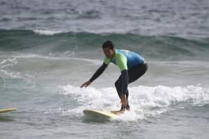 Algarve Yoga Matt surfing