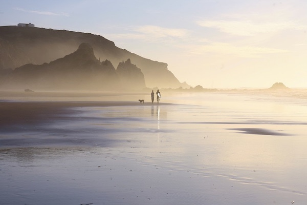 Algarve Yoga surf beach