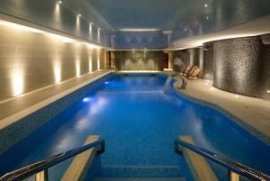 The Headland Hotel's pool