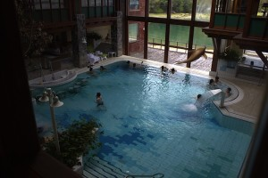 Puyuhuapi Lodge & Spa Chile indoor pool