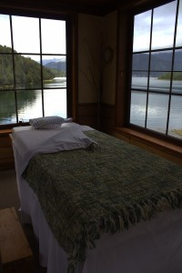 Puyuhuapi Lodge & Spa Chile massage room