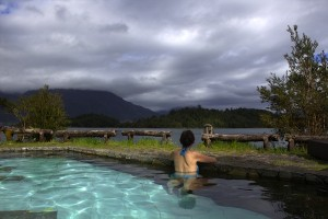Puyuhuapi Lodge & Spa Chile pool outdoor view