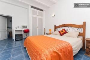 Bedroom at a Walking Ibiza homestay
