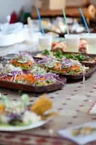 Healthy food at Casa Paradis, Ibiza