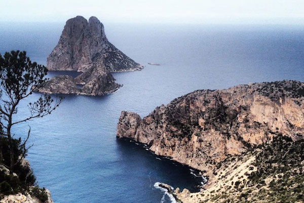 A view from Ibiza Walking