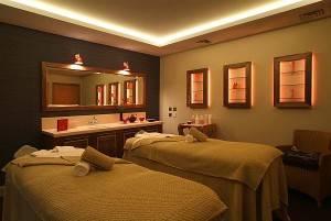 Armathwaite spa double treatment room