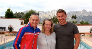 Kate with Gareth & Jereon D-Toxd Spain
