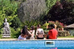 Moinhos Velhos Portugal poolside