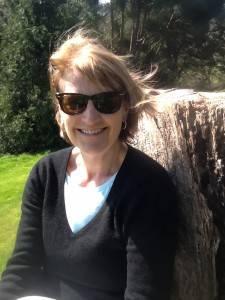 Sharpham Carla in garden