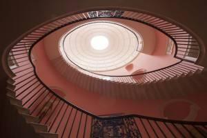Sharpham, Devon Sharpham House stairwell