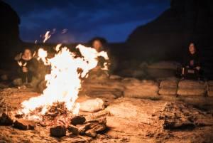Reclaim Your Self Mongolia campfire Richard Pilnick