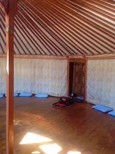 Reclaim Your Self Mongolia yoga ger