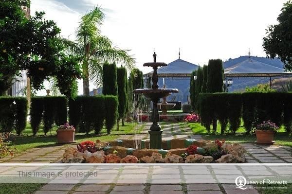 Santillán gardens