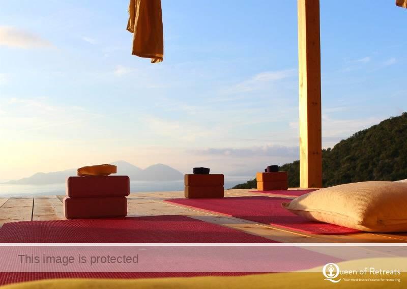 Urania Villas Lefkas Greece yoga and meditation retreats