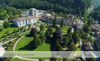Bad Ragaz spa hotel Switzerland