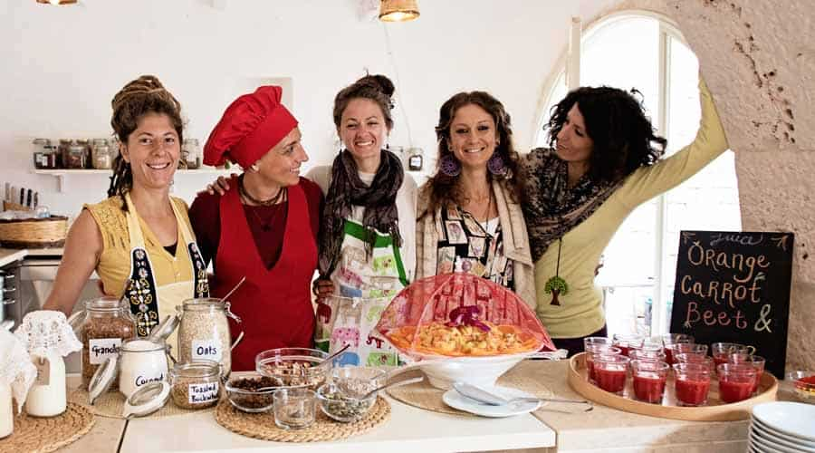 Kaliyoga raw food retreat in Italy