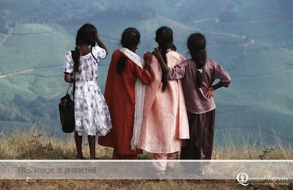 Friendship in India © Queen of Retreats