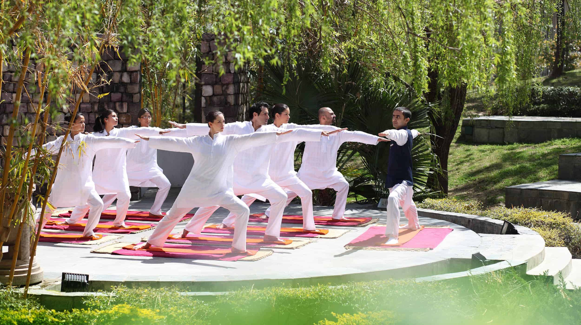 Ananda in the Himalayas Luxury Yoga Retreat