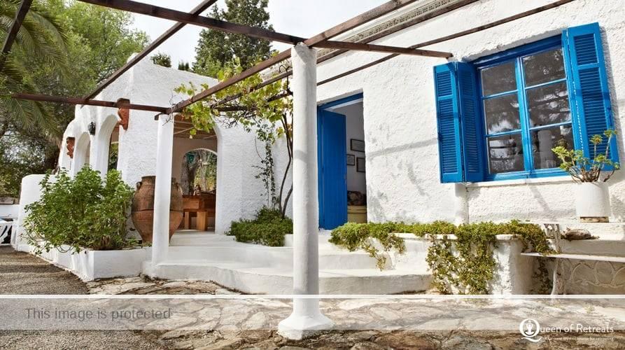 silver island retreat greece