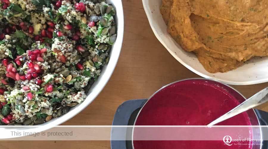 jiva healing juice detox healthy eating retreat